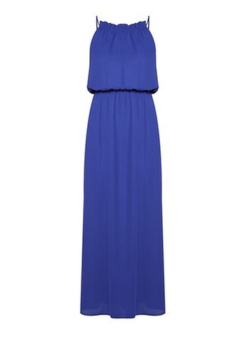 Dorothy Perkins Cobalt Chiffon Maxi Dress
