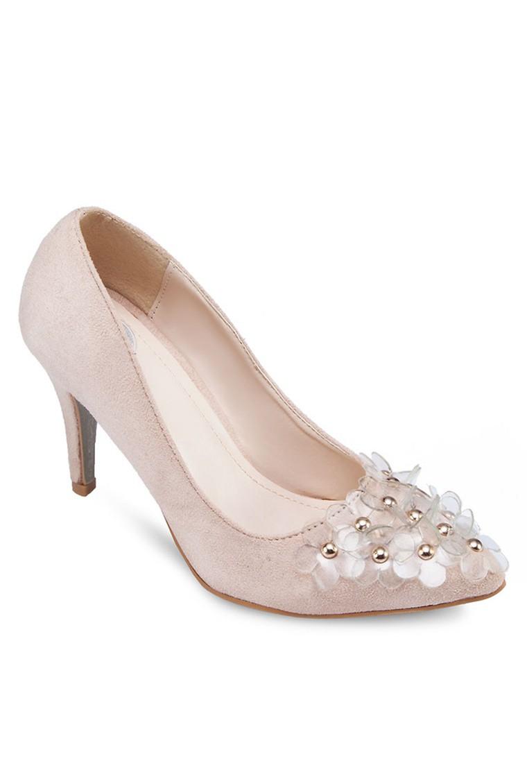 3D Flower Heels