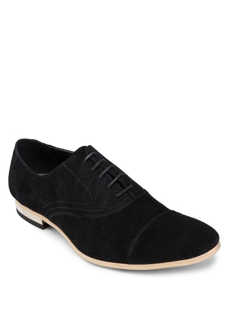 Suede Leather Lace Up Dress Shoes