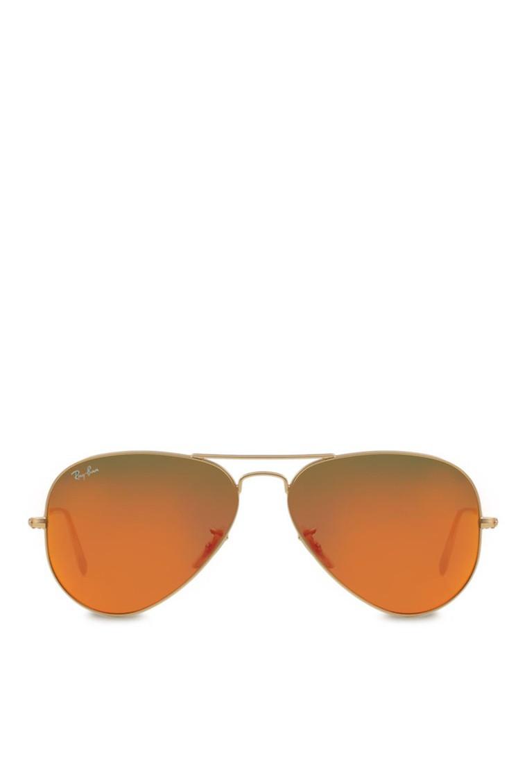 Aviator Flash Lenses Sunglasses