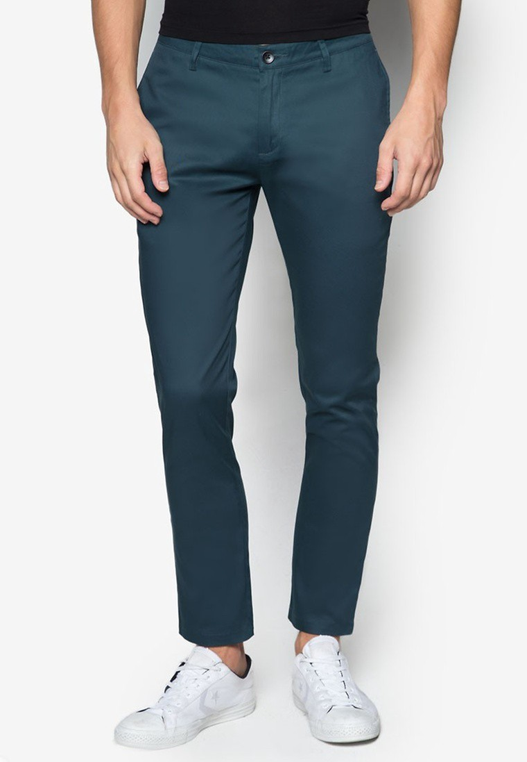 Basic Cropped Chinos