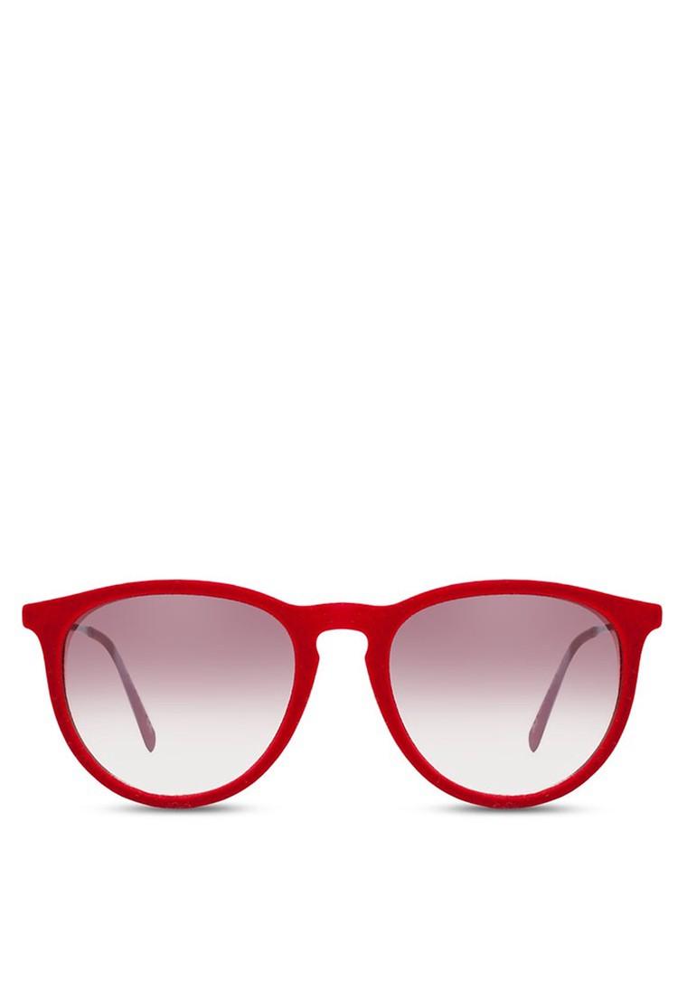 Velvet Round Revo Sunglasses