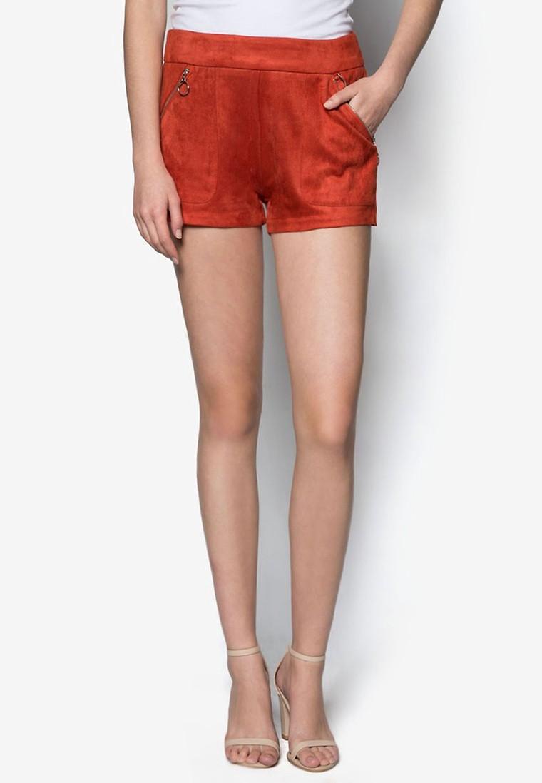 Love Pocket Detail Shorts