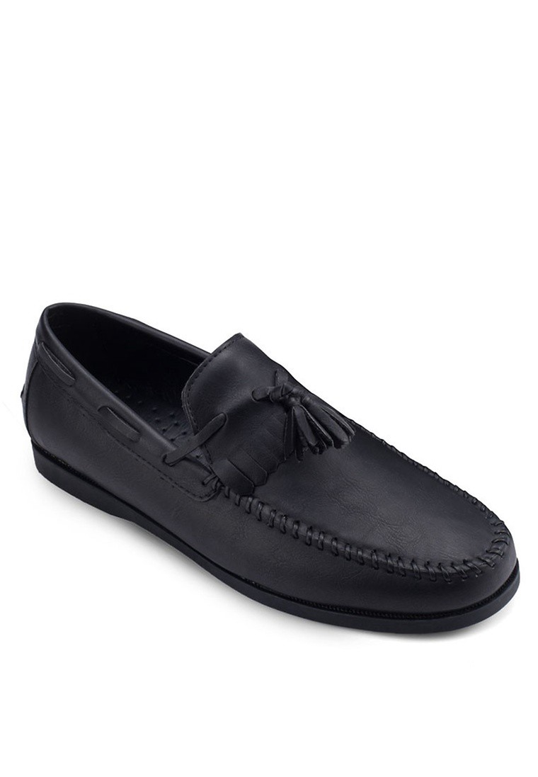 Tassel Loafers In Faux Leather