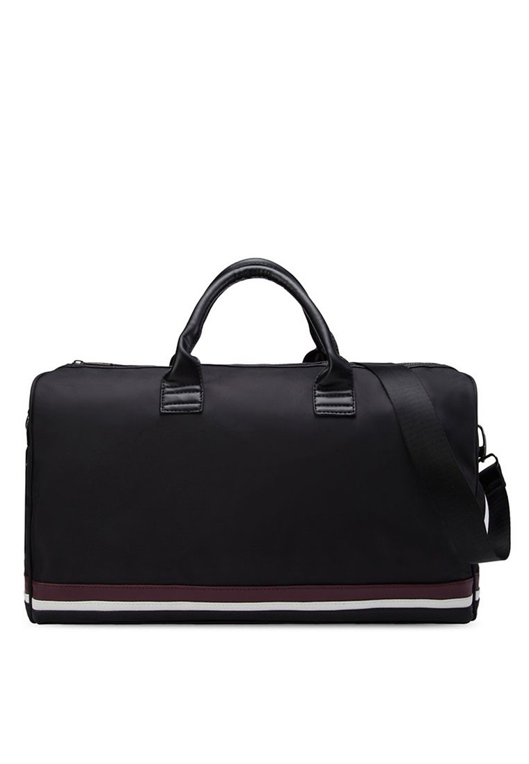 Striped Base Duffel Bag