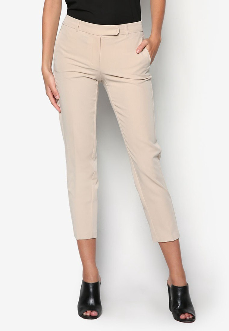Stone Ankle Grazer Trousers