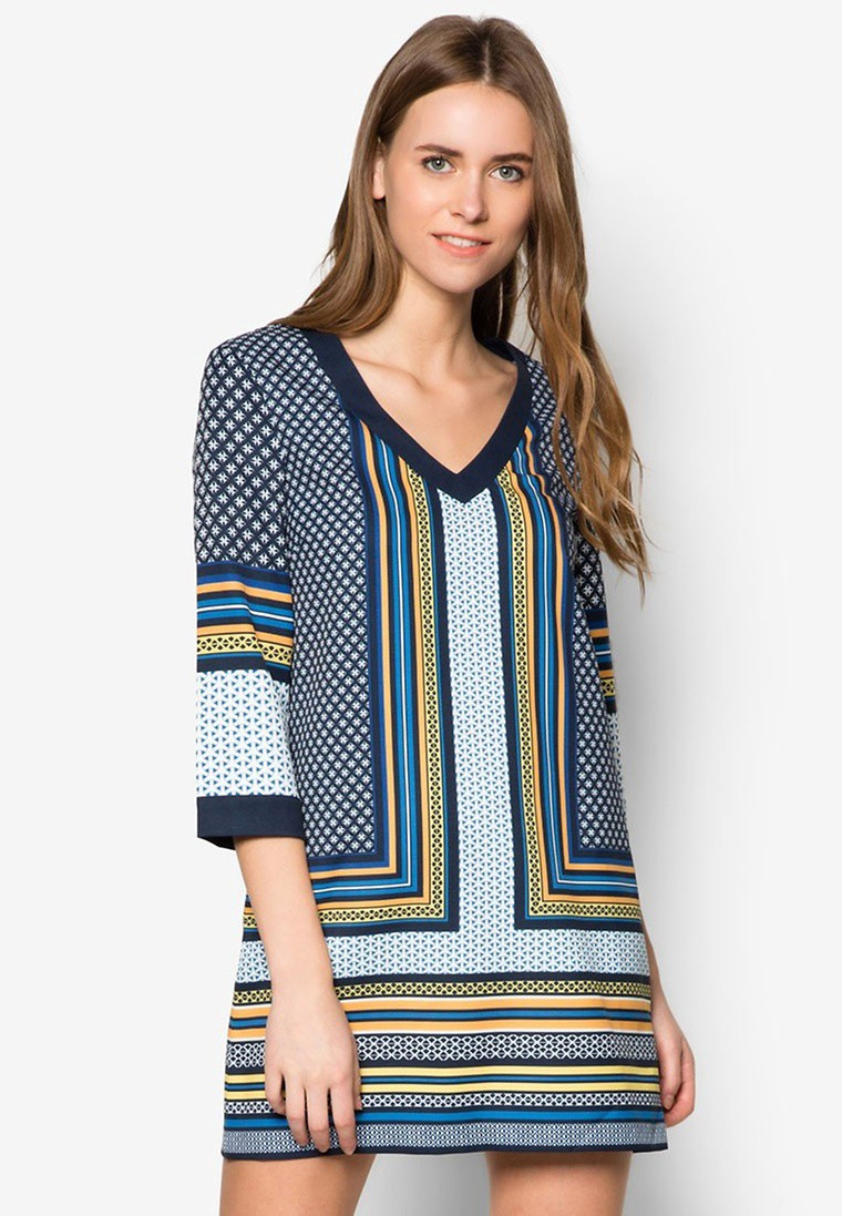 Collection Printed Tunic Dress