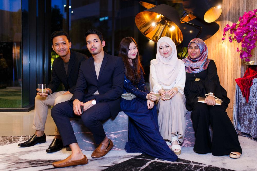Hafiz Rahman, Renizar, Aini Shah, Yasmin Fakri, Khatijah Halil