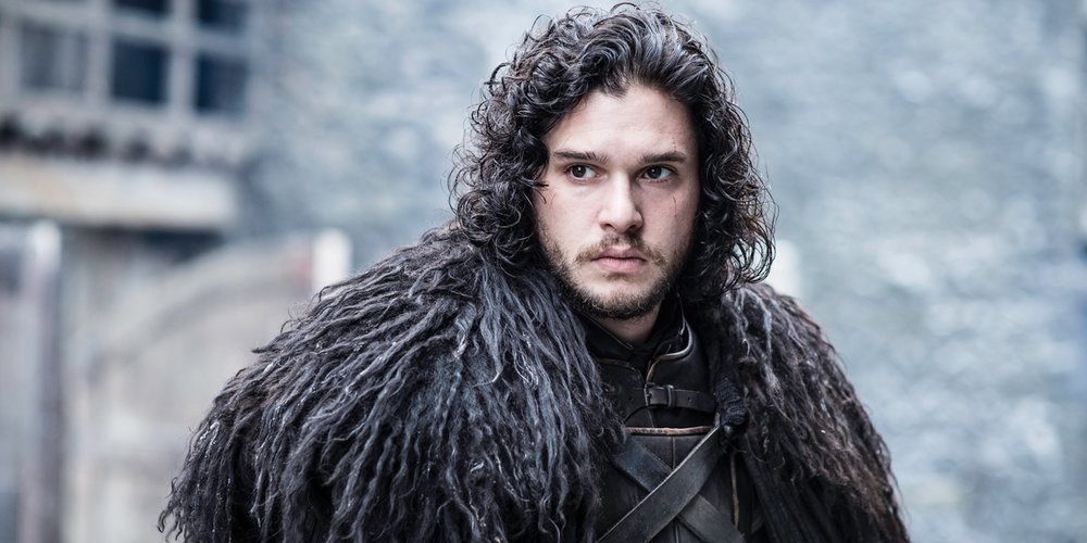 The original curl-spiration, Kit Harington's Jon Snow. Image: HBO Asia