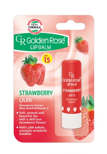 GOLDEN ROSE Lip Balm - Strawberry SPF 15