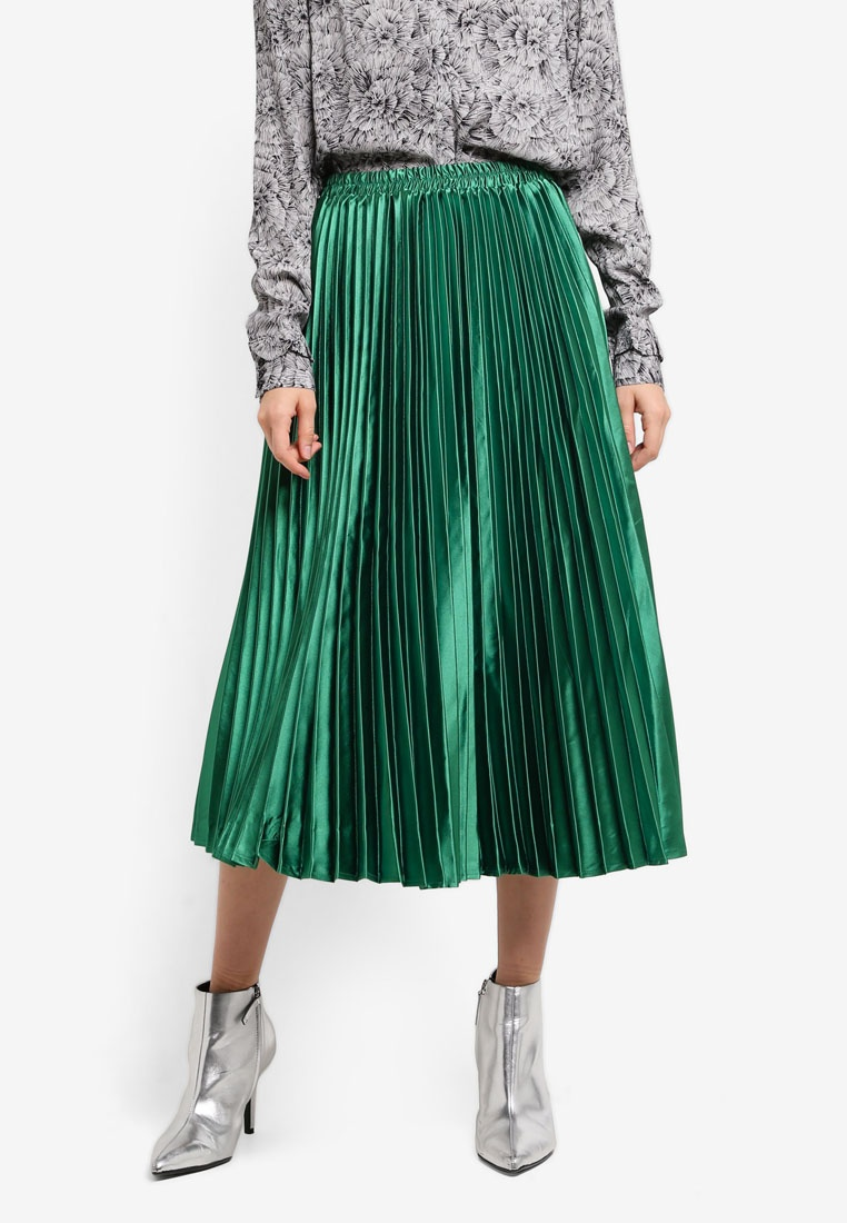 Y.A.S Karia Pleated Skirt