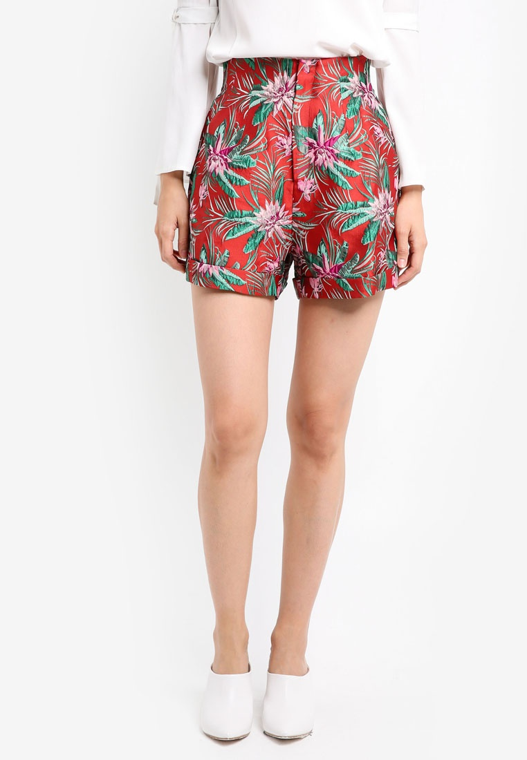 ZALORA Studio High Waisted Shorts