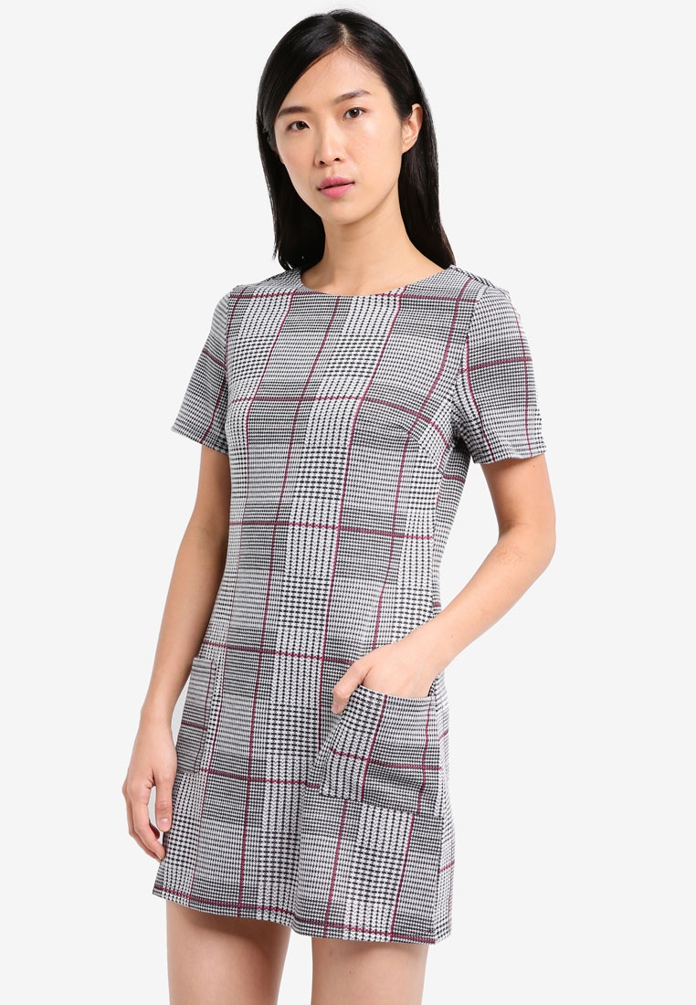 DOROTHY PERKINS Checkered Tunic
