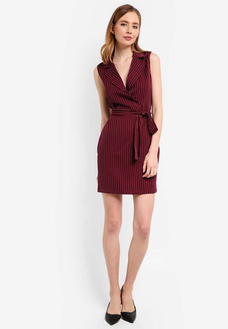 ZALORA Formal Lapel Dress