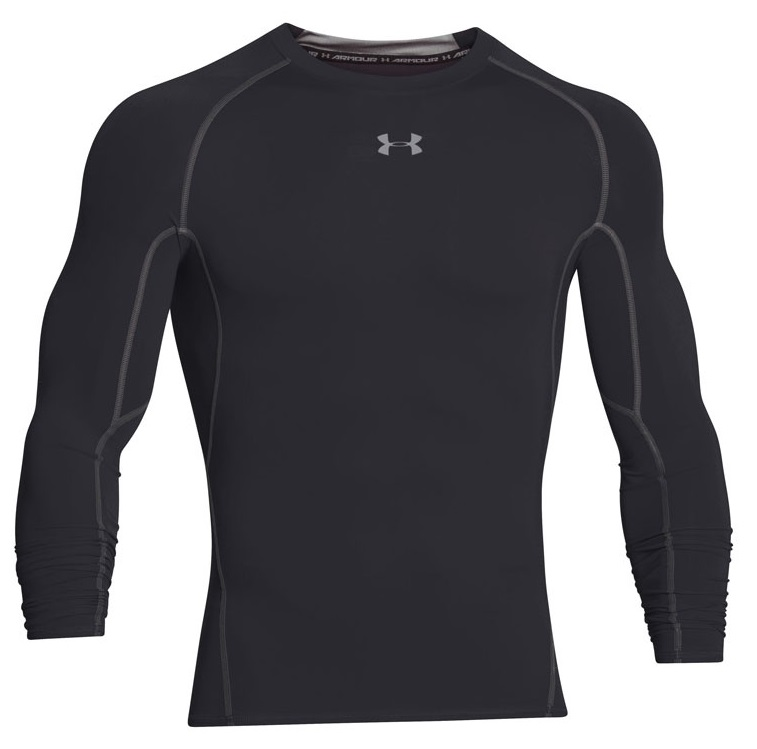 UNDER ARMOUR Men's UA HeatGear® Armour Long Sleeve Compression Shirt