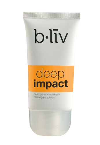 [B.Liv] Deep Impact 50ML (Deep Pores Massage & Cleansing Emulsion)