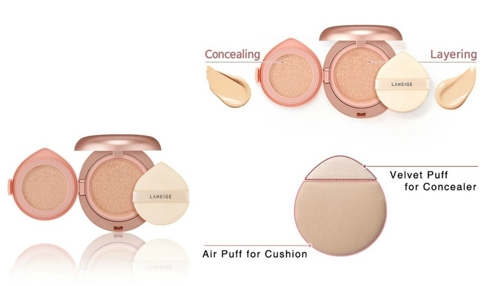 Laneige Layering Cover Cushion [No.23]
