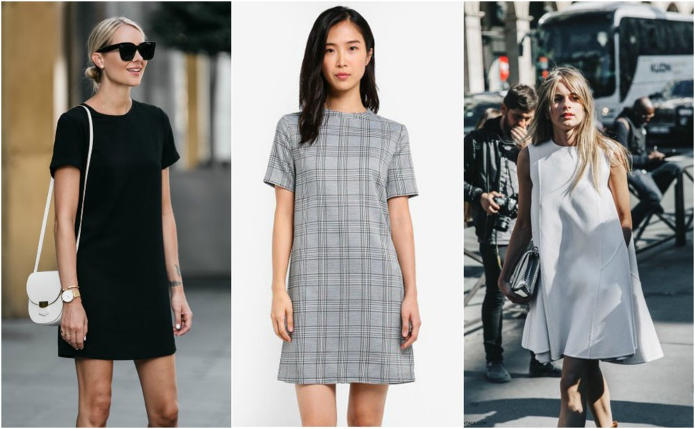 Check Shift Dress from  ZALORA
