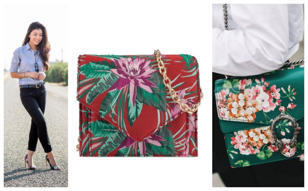 StylishlyMe |  ZALIA Floral Mini Crossbody Bag | Vogue Spain
