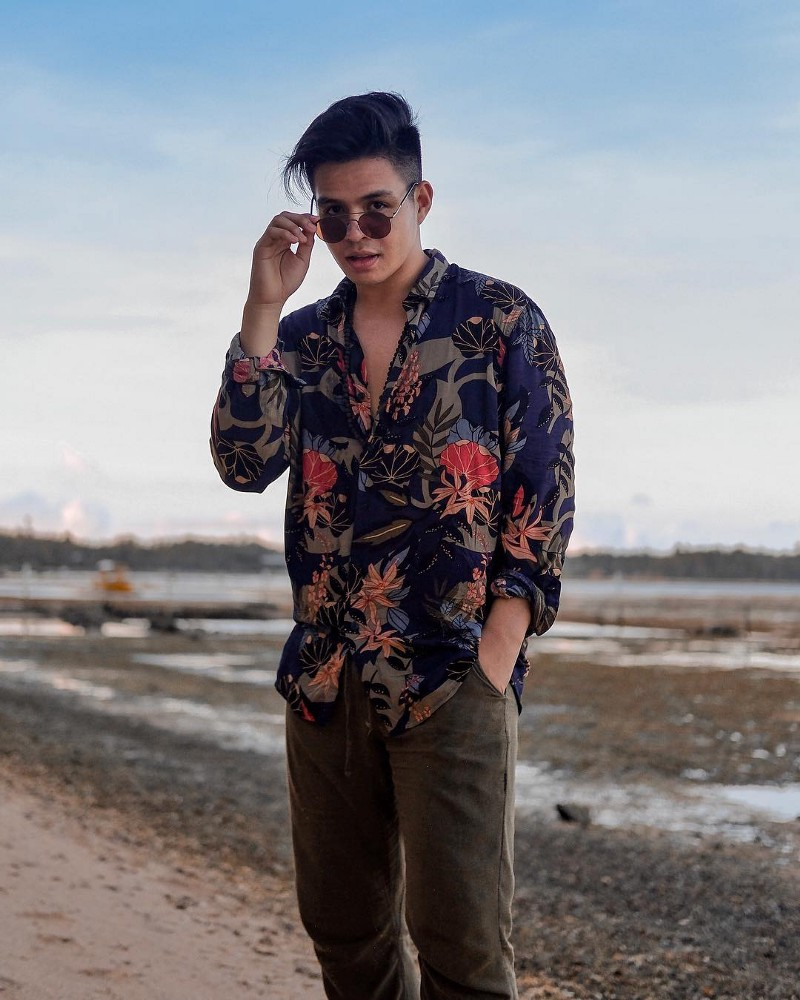 Get into the tropical mood with @ lancedeocampo