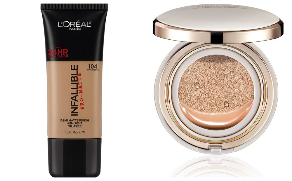 1.  L'Oreal Paris Infallible Pro-Matte Liquid Foundation - 104 Golden Beige , 2.  Sulwhasoo Perfecting Cushion Set No.25