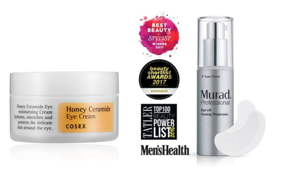 1.  Cosrx Honey Ceramide Eye Cream 30ml , 2.  Murad Professional Eye Lift Firming Treatment