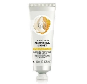 The Body Shop Almond Milk & Honey Calming & Protecting Hand Cream