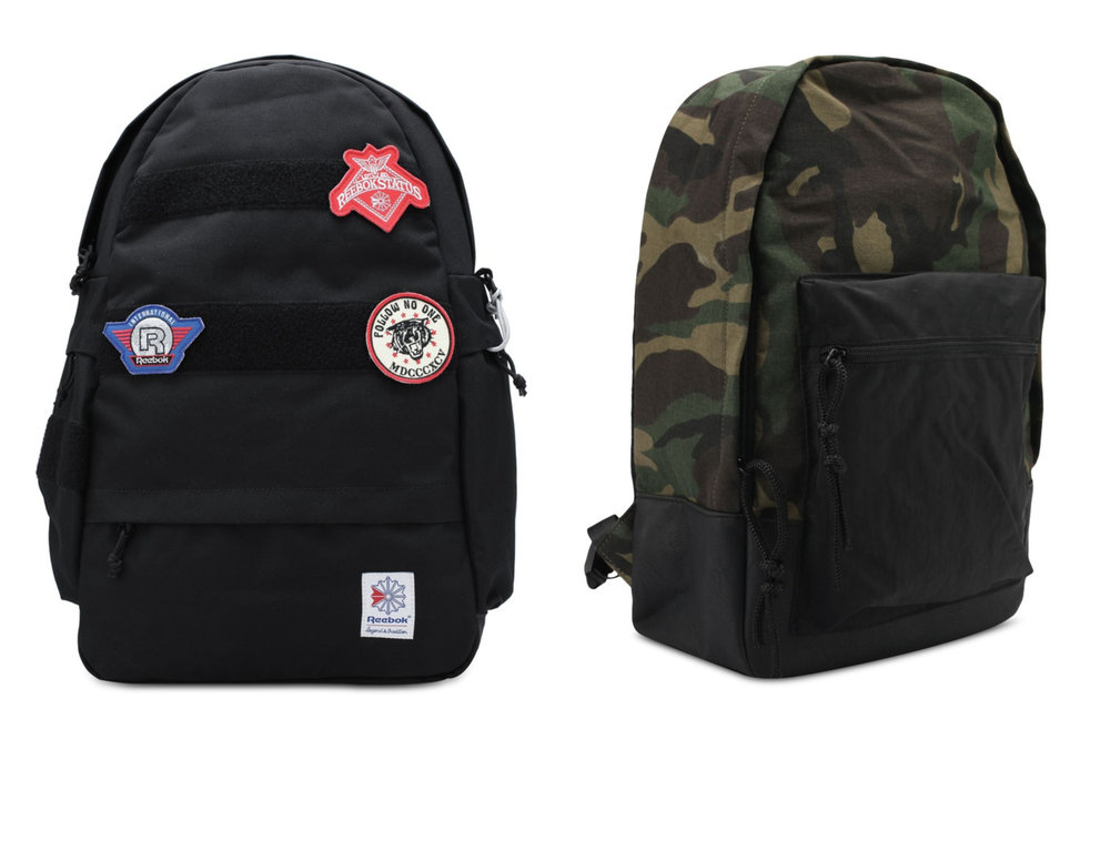 1.  Reebok Classic JWF Patch Game Backpack , 2.  JAXON Printed Backpack