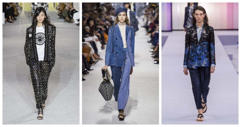 Balmain; Dior; Paul Smith SS18