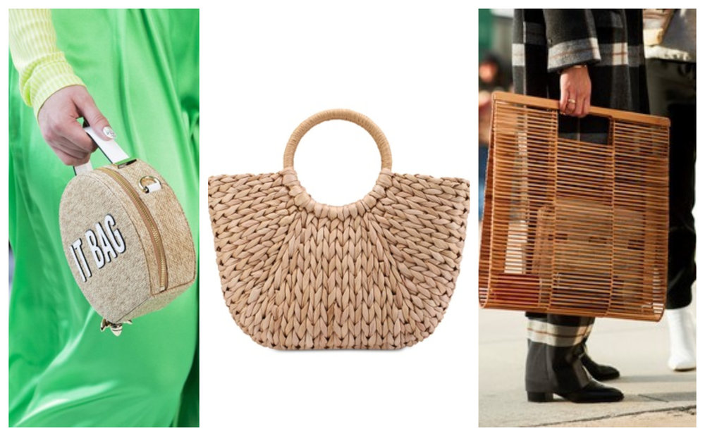ZALORA Medium Size Basket Bag
