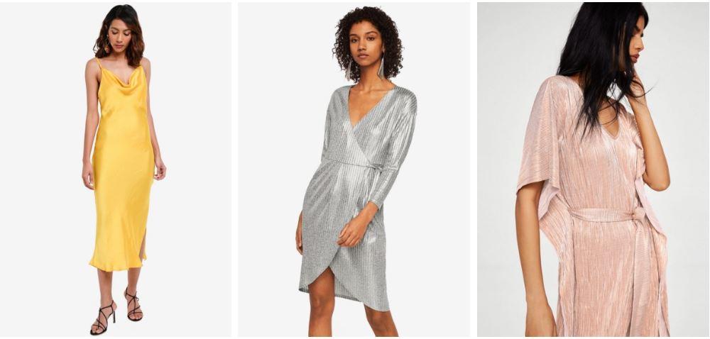 Topshop Cowl Dress| Center, Right,Mango Wrap Dresses