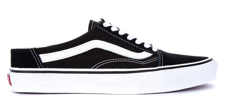 Vans Old Skool Mule Lace-Up Sneakers