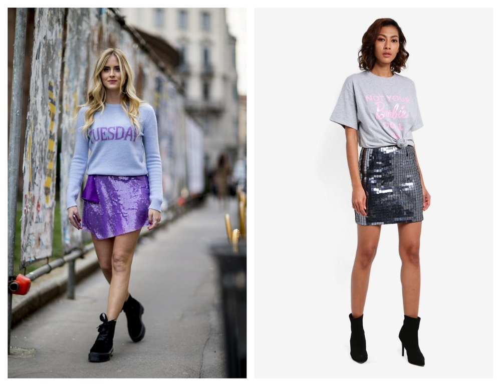 MISSGUIDED Barbie Not Your Barbie T-Shirt