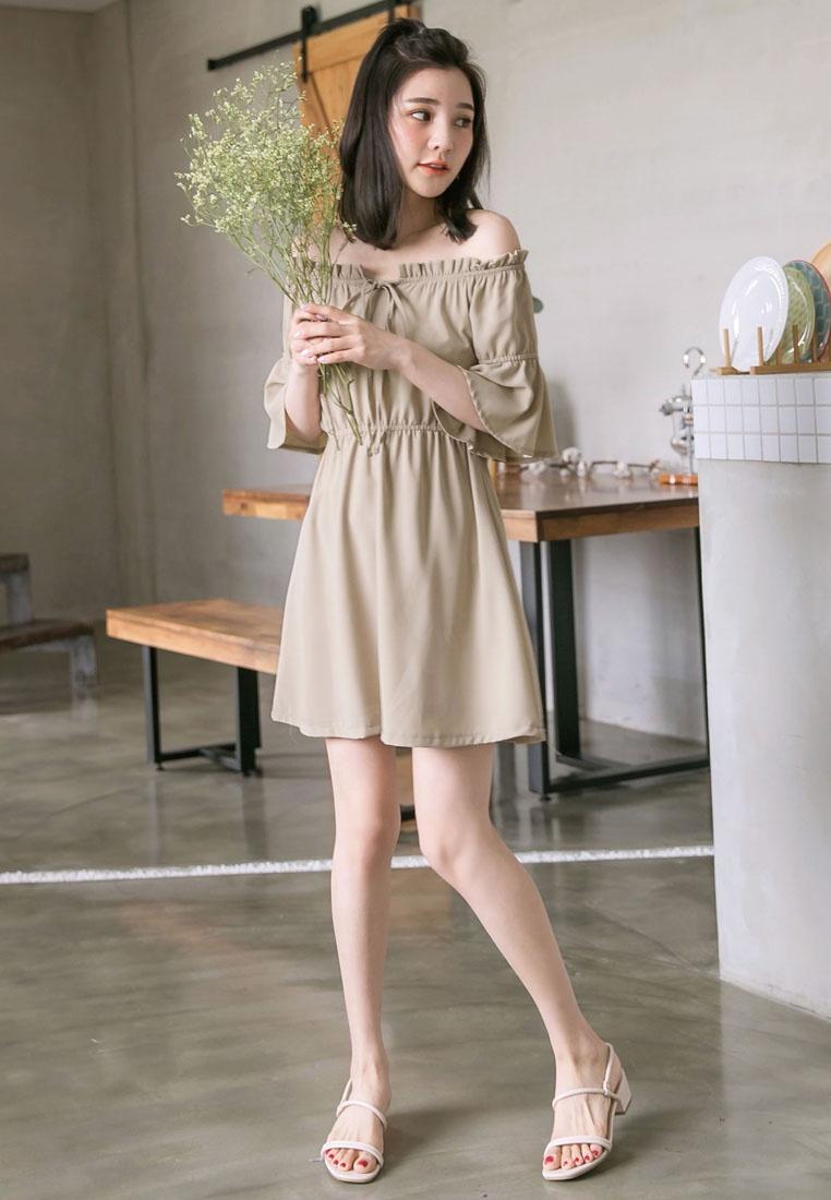 TOKICHOI Off Shoulder Mini Dress