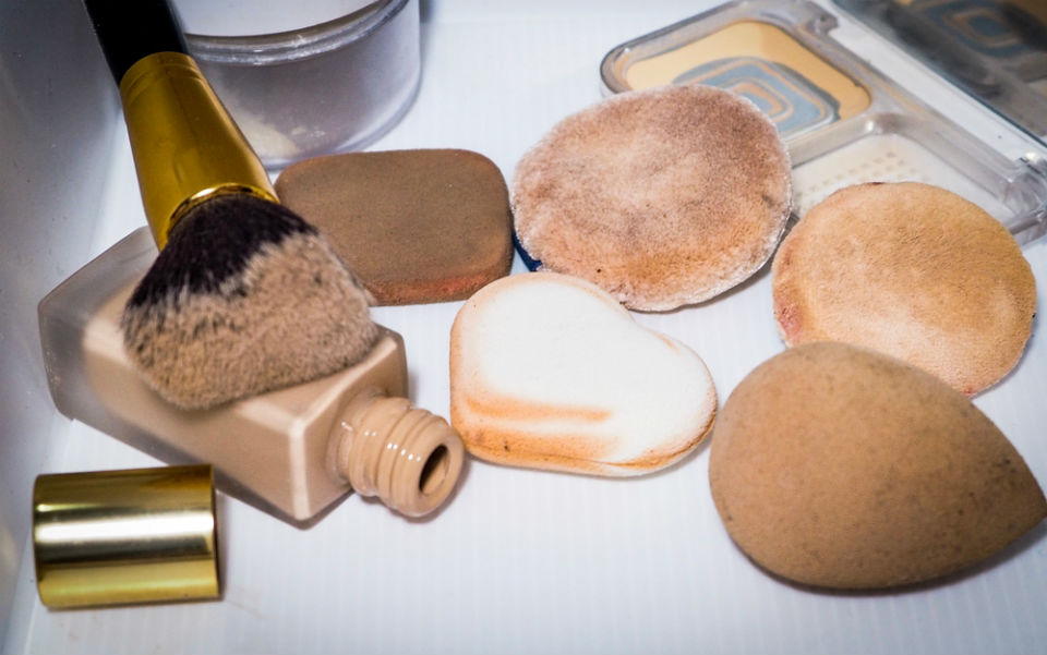 Always clean your makeup brushes. With all the bacteria collected from your face and storage, along with dirt and oil; it's not a good combination. There have been many cases of people acquiring life-threatening diseases from  makeup brushes , you don't want to be another statistic. Every three weeks, lather your makeup brushes with shampoo and let them dry overnight. It's a simple habit that your skin would thank you for.      You exfoliate too much