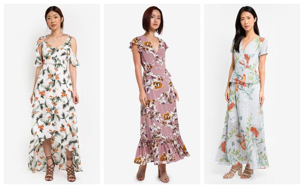 Something Borrowed Button Down Dip Hem Maxi Dress | ZALORA Maxi Wrap Dress | ZALORA Raglan Sleeve Wrap MaxiDress