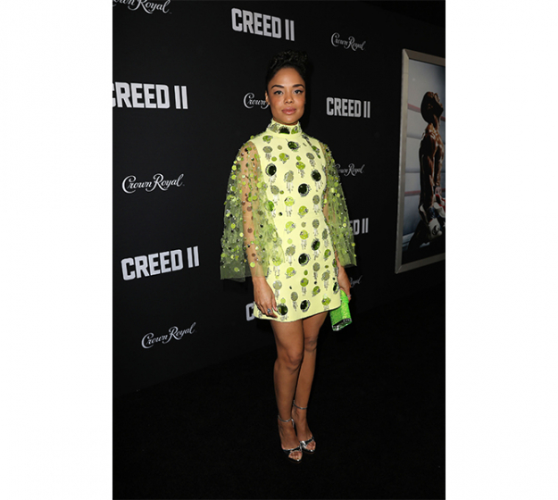 Tessa Thompson in Prada