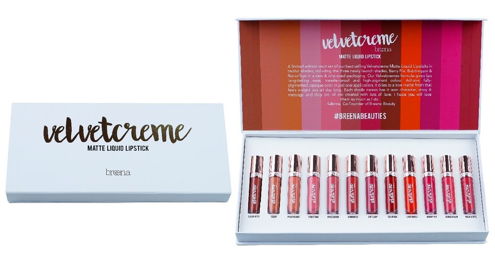 Velvetcreme Limited Edition Liquid Lipstick Vault  | RM 396.00