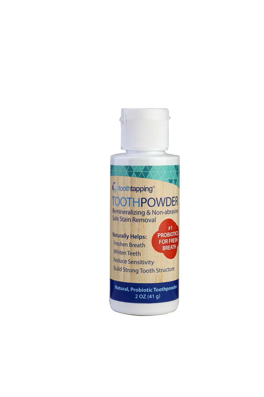 Toothtapping Tooth Powder