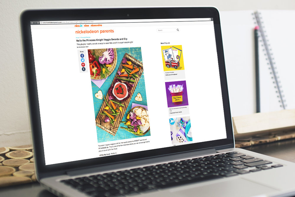 """STEP-BY-STEP PHOTOS & """"HOW TO"""" INSTRUCTIONS FOR NickelodeonParents.com"""