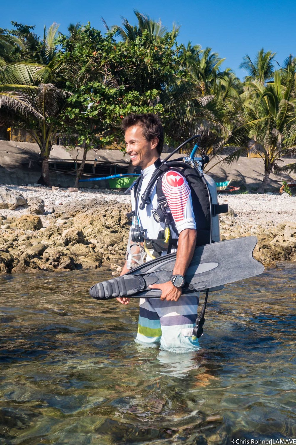 Josh Rambaniharison Project Leader: Ray Fisheries Josh grew up in the French Alps, though his roots are in Madagascar. A biology graduate with a passion for diving, Josh went on to study a masters in Sustainable Development, which included a year at the University of Reunion Island studying Biodiversity and Tropical Ecosystems. Joshs' main interest is elasmobranchs; he leads LAMAVE research on Mobulidae in the Bohol Sea. MSc. in Biodiversity and Sustainable Development, University of Perpignan, France BSc. Biology of Organisms and Populations, University of Lyon, France