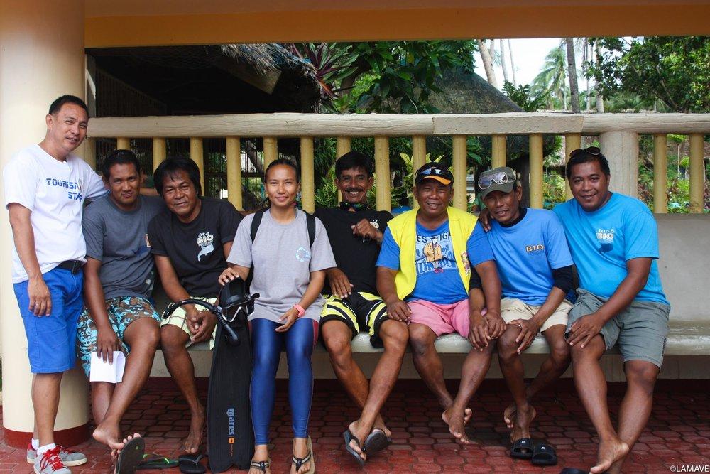 volunteer-community-whale-shark-philippines-lamave