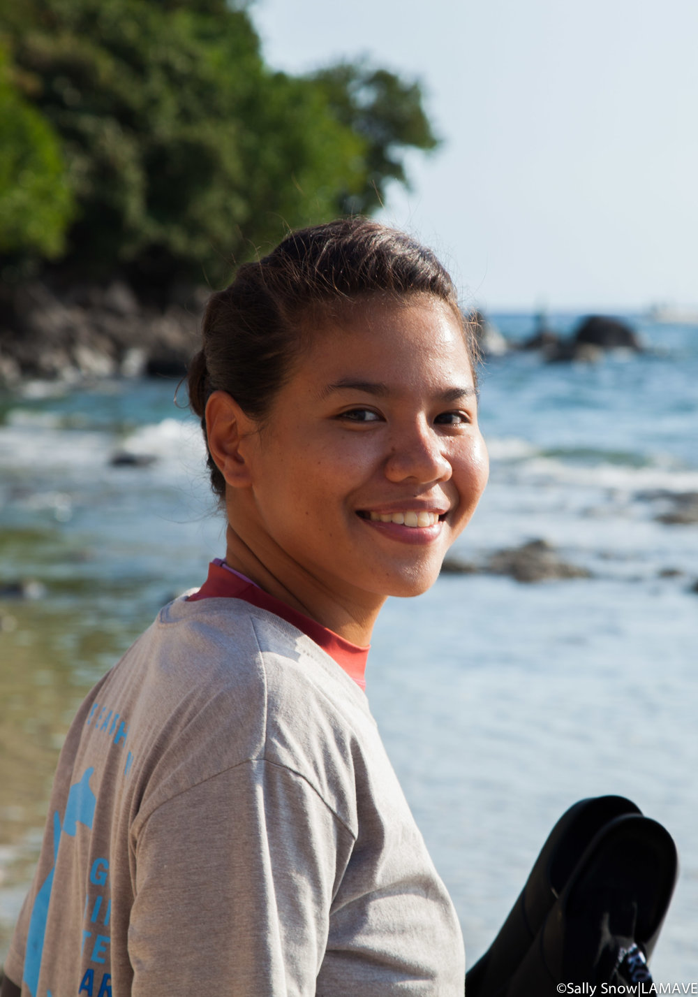 Sue Andrey Ong    Project Leader: Apo Island Turtles Research and Conservation Project   Sue is Filipina marine conservationist. She came from Cagayan de Oro City, Misamis Oriental, Mindanao. Sue was studying Biology at Xavier University located in her hometown. She is passionate about large marine mammals and she just joined LAMAVE as a Project Leader of Apo Island Turtles Research and Conservation Project.   BSc. Biology – Xavier University – Ateneo de Cagayan, Cagayan de Oro City, Philippines