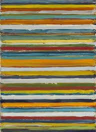 山田正亮「Work C.18」(1960,油彩, 33.0 x 24.0 cm)