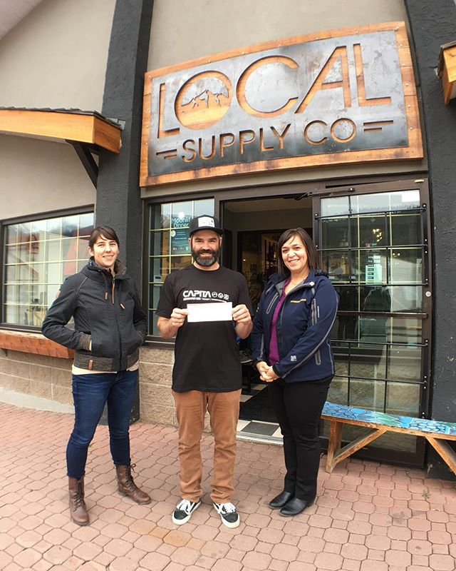 Thank you Seabridge Gold for the $1000 donation to the future Smithers skatepark expansion! #boarding4brant #smithersskateparkexpansion #smithersskatepark #townofsmithers