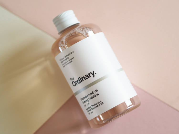 The Ordinary Glycolic Acid 7% Toning Solution - Say hello to your new holy grail nighttime toner! It gently exfoliates, improves skin radiance and brightness. Girls at the Influenster raved about it too.