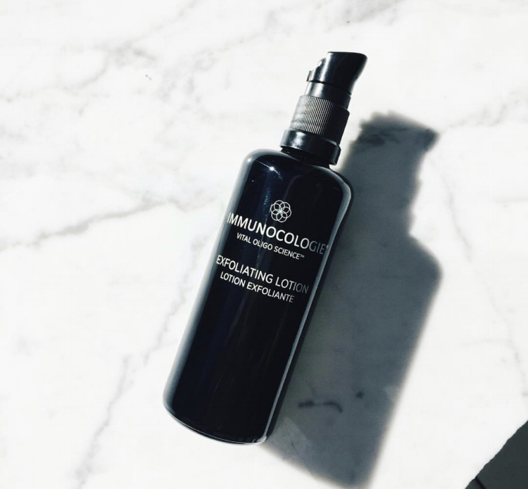 Immunocologie Exfoliating Lotion - Traditional exfoliants can be harsh on skin - luckily this exfoliating lotion is anything but that. It glides on skin and removes dead skin without the burn. What's not to love?