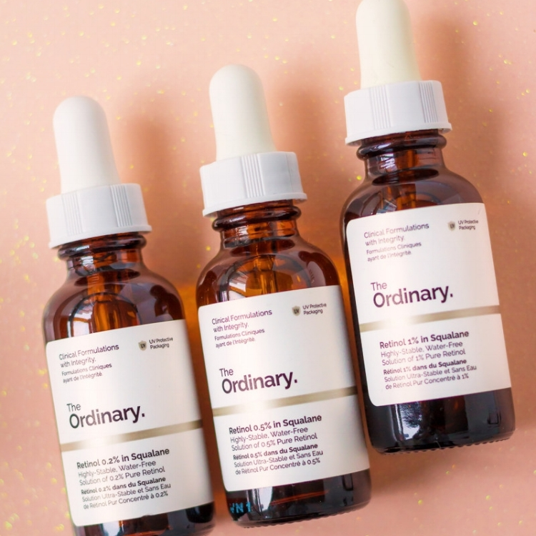 The Ordinary Retinol 0.5% in Squalane - Retinol is your skin's best friend – it boots collagen production, minimizes fine lines and unclogs your pores. That's why we love The Ordinary Retinol 0.5% in Squalane. Add it to your nighttime regimen and watch your skin transform – just don't forget to wear sunscreen.