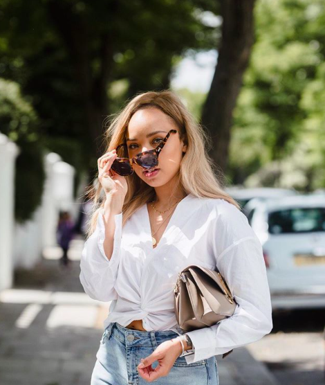 4. @samanthamariaofficial - Sammi is a fulltime mom, girlboss and a lifestyle/fashion blogger from London. Her and her husband created their own clothing brand as well called Novem & Knight. How she manages it all, I don't know!