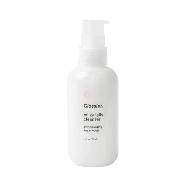 Glossier's Milky Jelly Cleanser - Glossier's Milky Jelly Cleanser is vegan, hypoallergenic, and awesome for all skin types. It's paraben free, sulfate free, cruelty free, and is made with a blend of five skin conditioners.